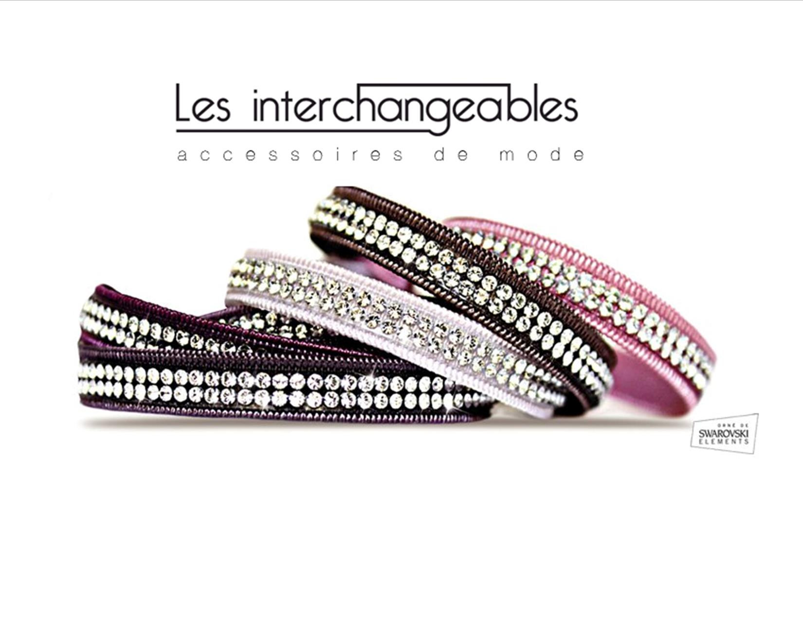 bracelet interchangeable strand plaited
